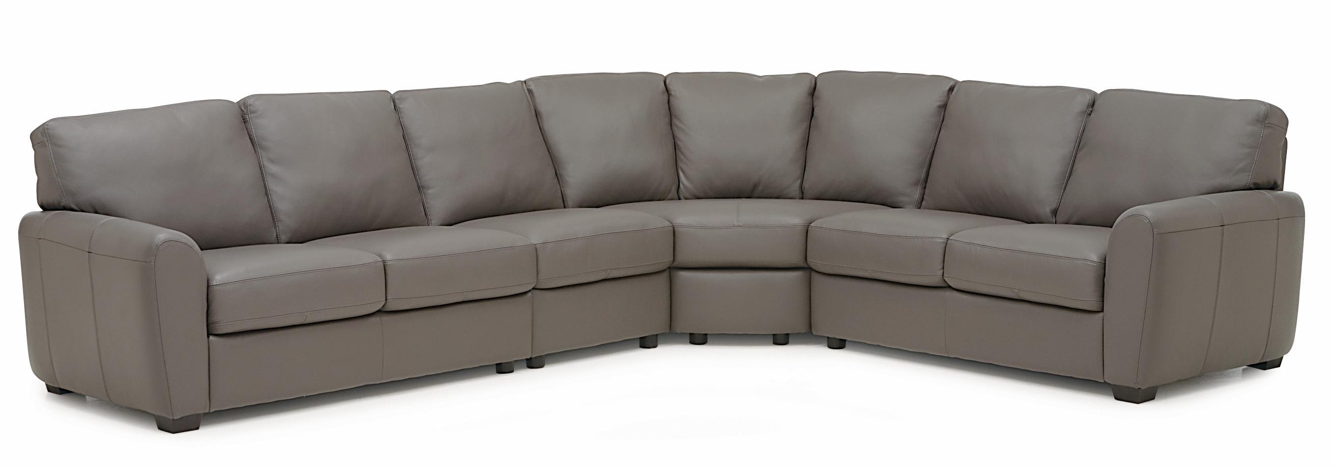 Palliser Connecticut Contemporary Sectional Sofa