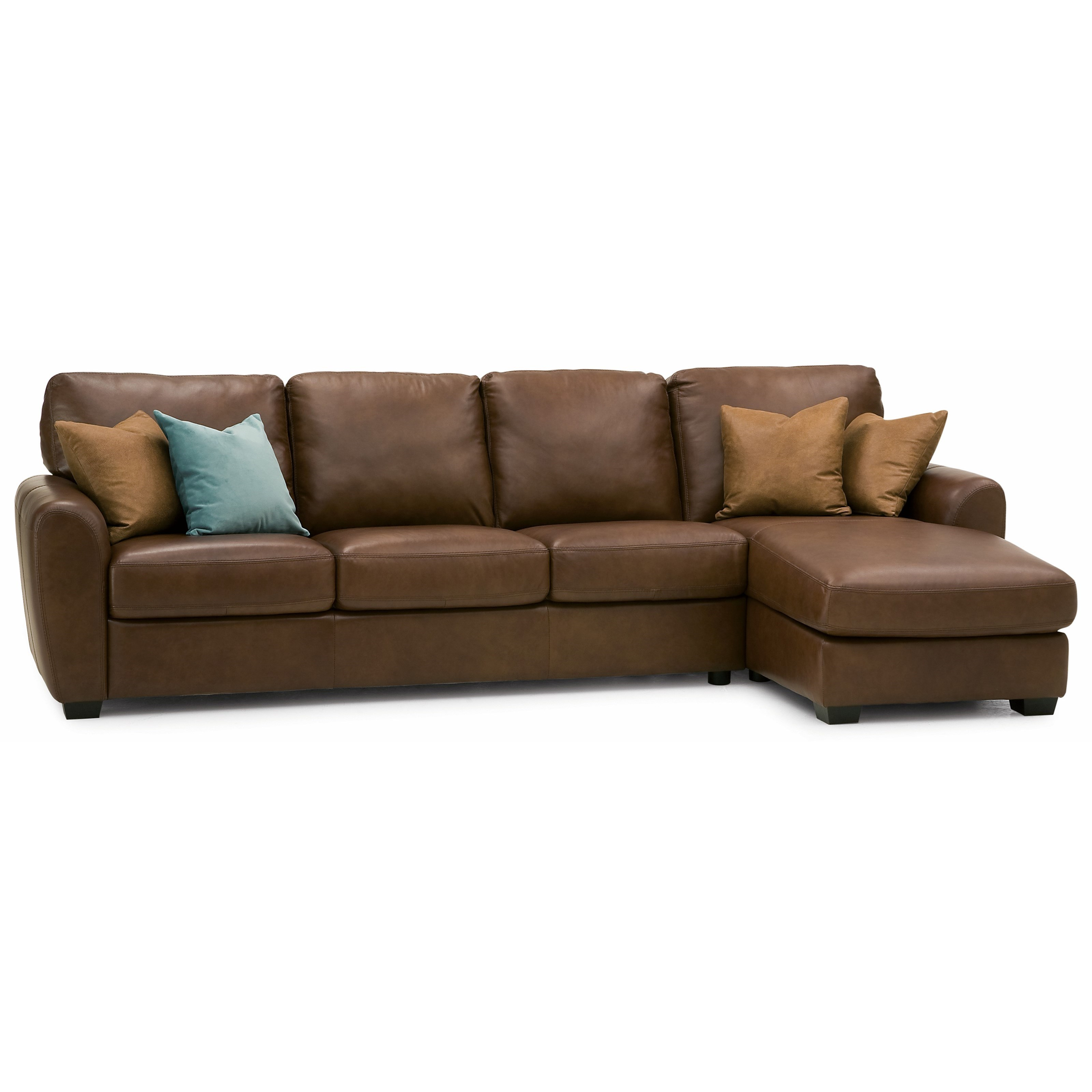 Palliser Connecticut Contemporary Sectional Sofa With RHF
