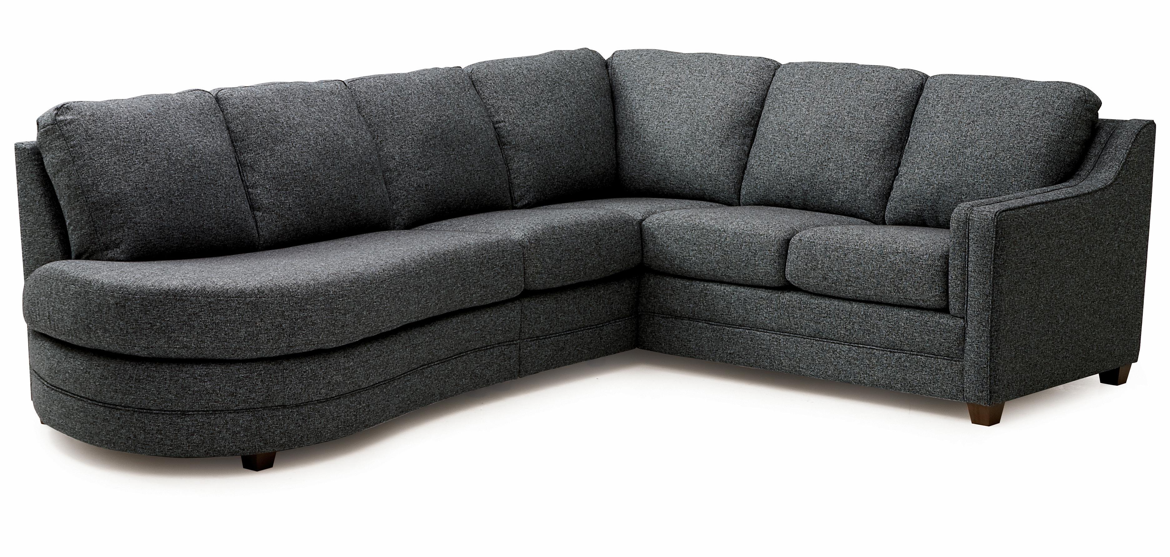 Palliser Corissa Sectional Sofa - Item Number: 70500-20+10+11+08