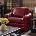 Palliser Corissa Contemporary Chair with Track Arms - 77500-95