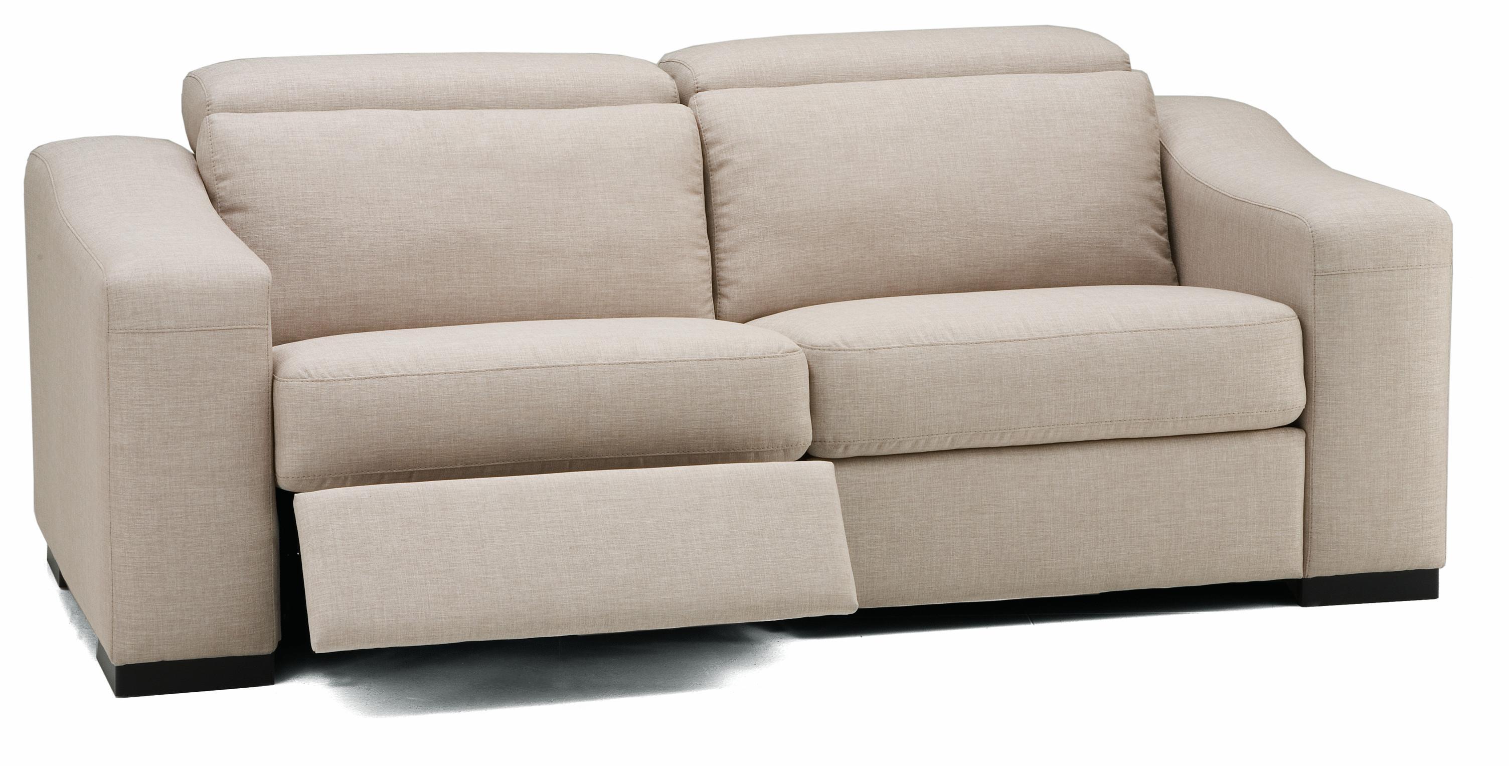 Palliser Cortez Ii Modern Sofa Recliner W Block Feet
