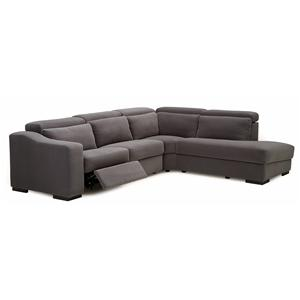 Palliser Cortez II Powered RHF 4 Pc. Sectional