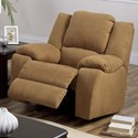 Palliser Delaney Rocker Recliner Chair - Item Number: 41040-32-Hush Camel