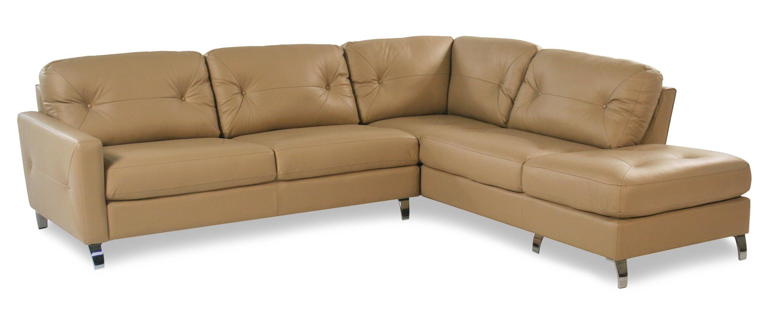 Palliser Berkley 2PC Contemporary Leather Sectional - Item Number: 77781-12+35
