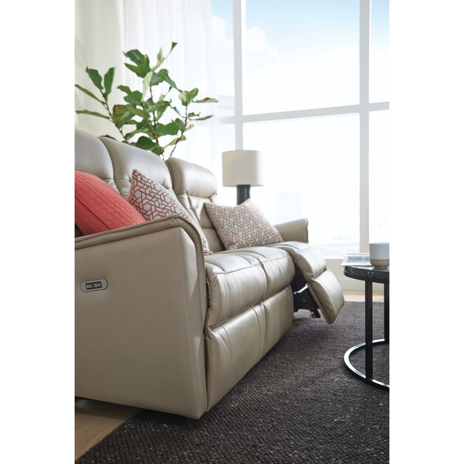 Palliser Dover Contemporary Small Scale Power Reclining