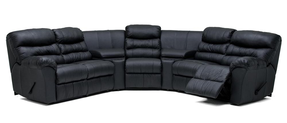 Palliser Durant Five Chair Home Theater Seating - Item Number: 41098-47+2x10+2x81+30+46