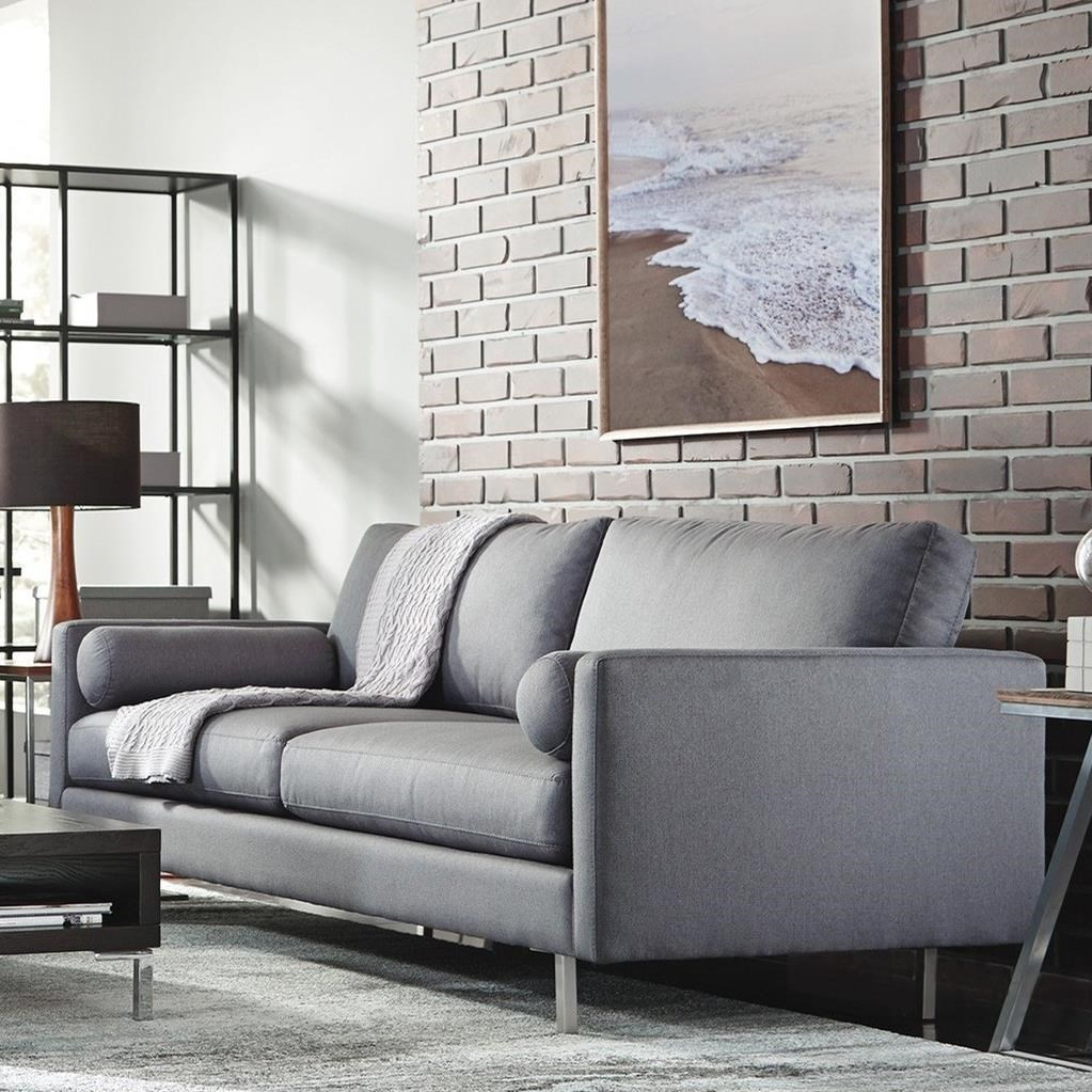 Fine Palliser Edie 77309 1P Contemporary Sofa With 2 Round Ocoug Best Dining Table And Chair Ideas Images Ocougorg