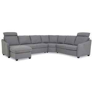 Power Reclining Sectional with LAF Chaise