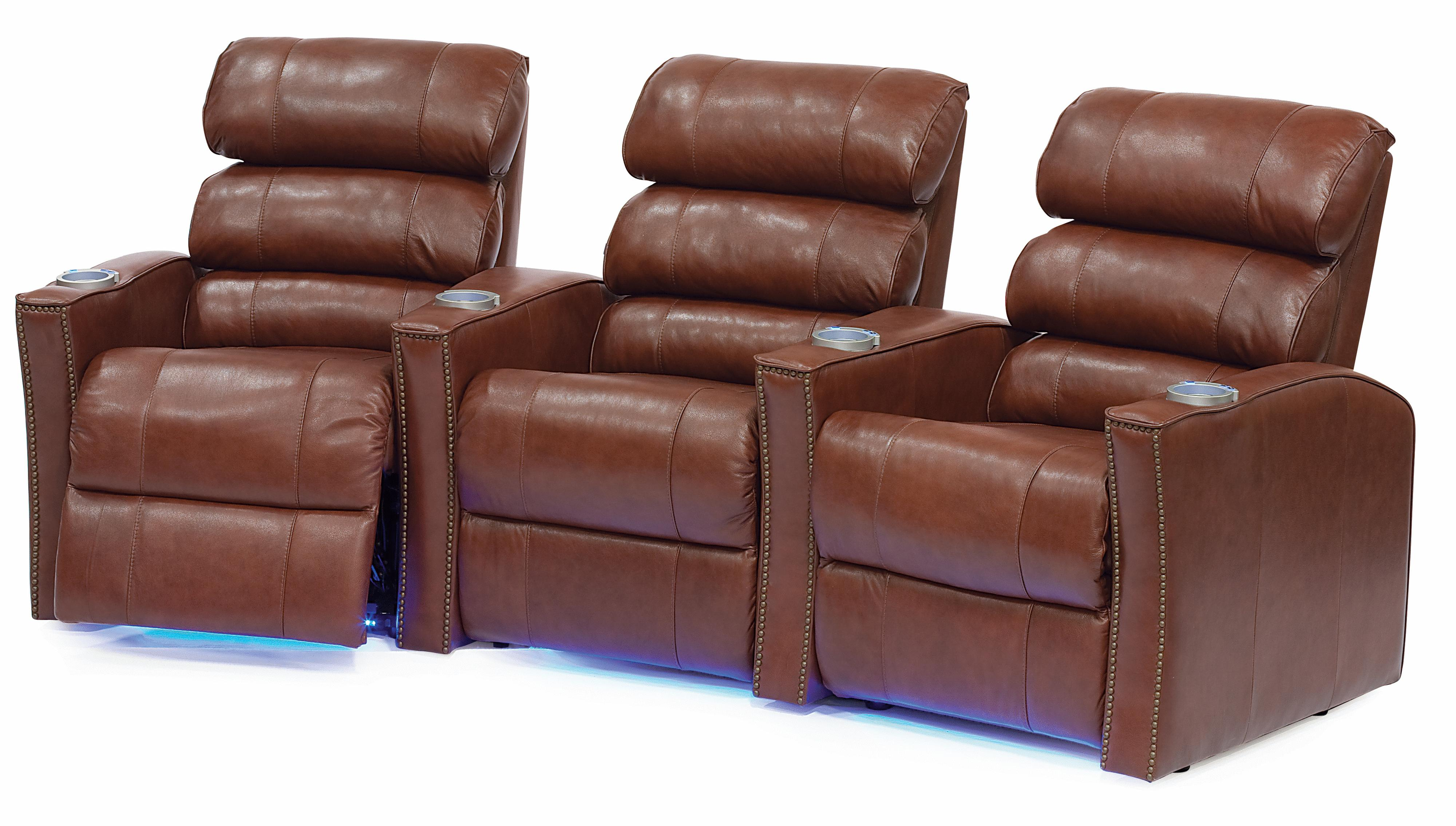 Palliser Feedback Reclining Home Theater Seating - Item Number: 41457-3R-5R-7R