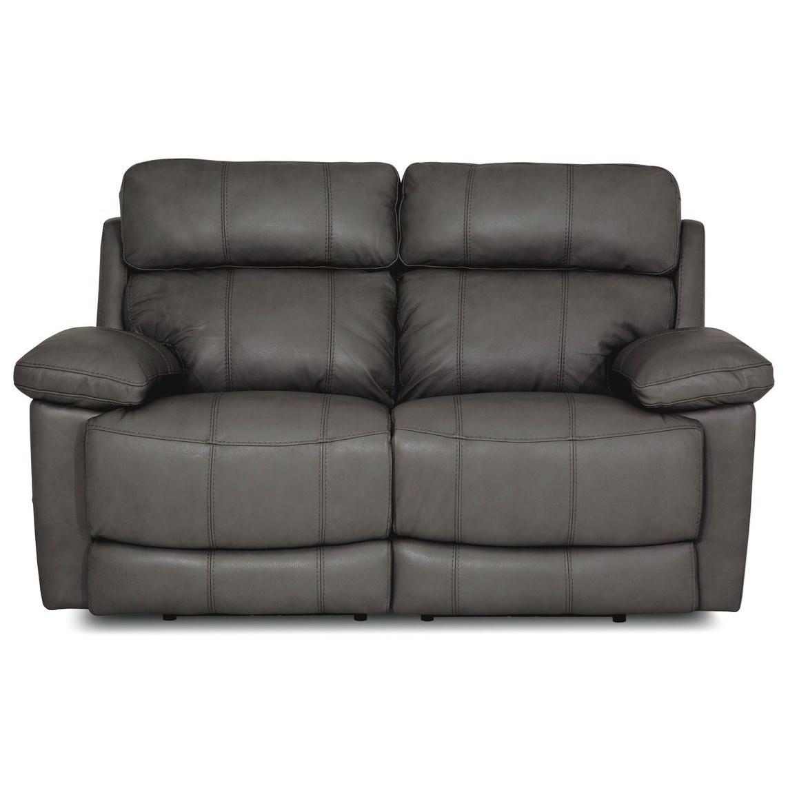 Palliser Finley Casual Power Headrest Reclining Loveseat With Usb Ports Darvin Furniture Loveseats