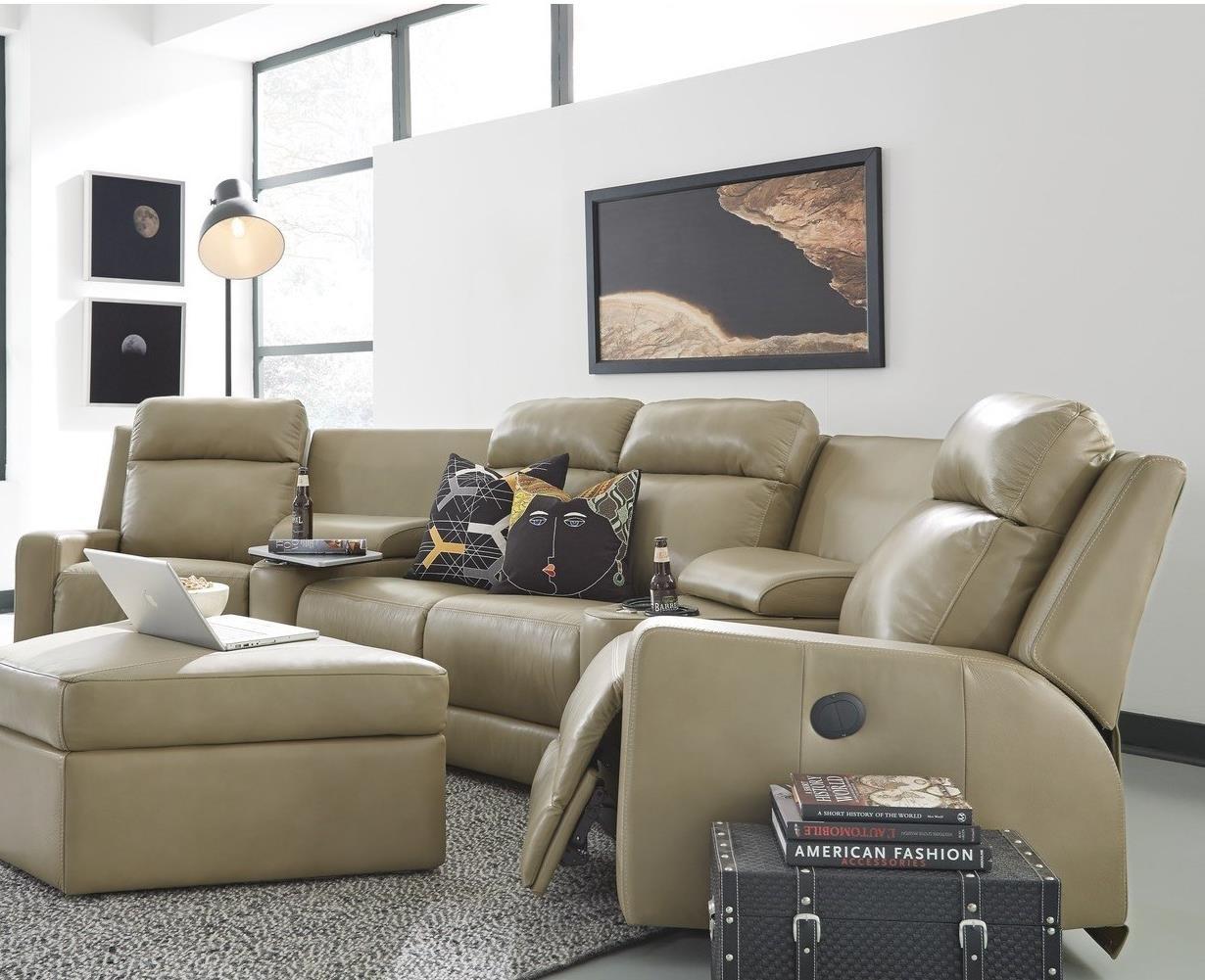Peachy Palliser Forest Hill 4 Seat Power Reclining Sectional Sofa Alphanode Cool Chair Designs And Ideas Alphanodeonline