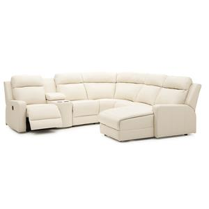 Palliser Forest Hill Reclining Sectional Sofa Chaise