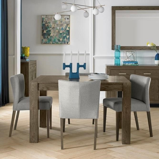 Palliser Gardiner Saylor Modern Rustic 5 Piece Table And Chair Set With Extension Table Jordan S Home Furnishings Dining 5 Piece Sets