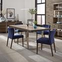 Palliser Gardiner-Saylor 5-Piece Table and Chair Set - Item Number: 219-154+155+4x124