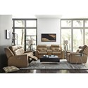 Palliser Grove Reclining Living Room Group - Item Number: 41062 Living Room Group 1