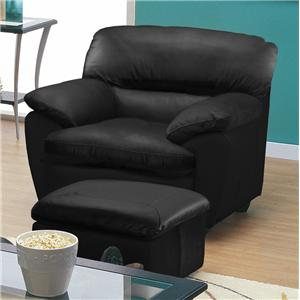 Palliser Harley Chair and Ottoman