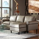 Palliser Inspirations - Marbella High Leg Sofa Chaise - Item Number: 10001-65-Venice Tawny