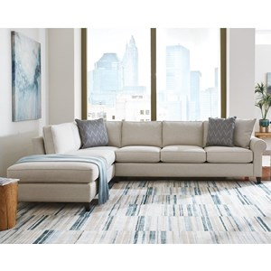 4-Seat Sectional Sofa w/ LAF Chaise
