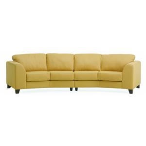 Palliser Juno Elements 77494 Angled Sectional Sofa
