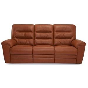 Sofa Power Recliner w/ Pwr Headrest & Lumbar