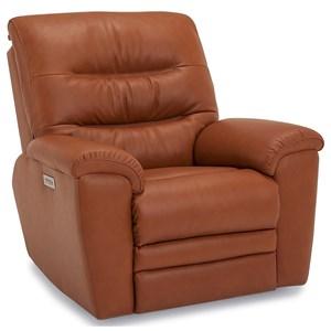 Wallhugger Pwr Recliner w/ Headrest & Lumbar