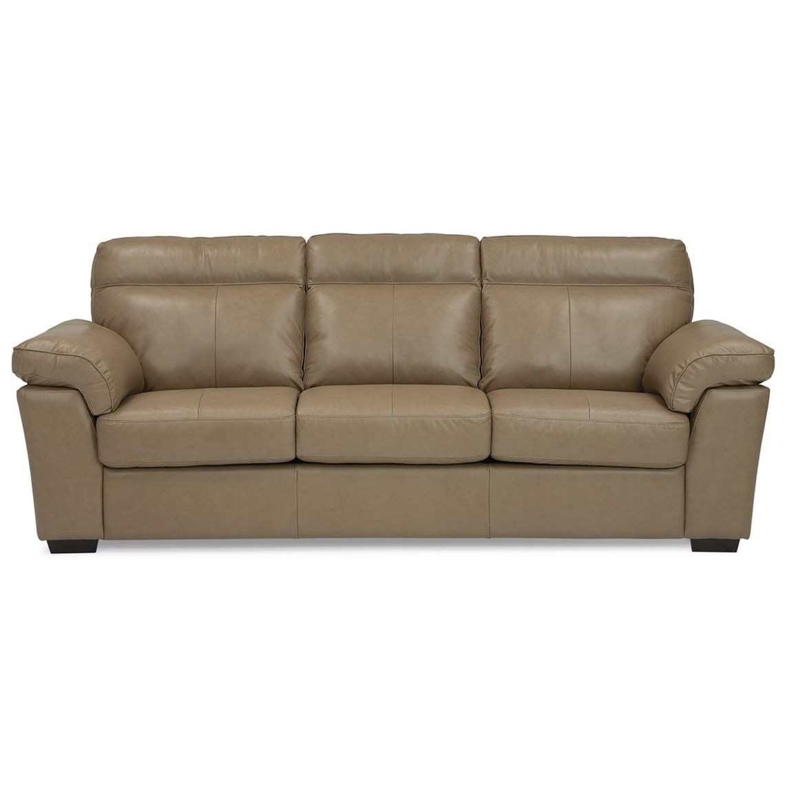 Palliser Kingston Casual Queen Sofa Bed with Pillow Arms ...