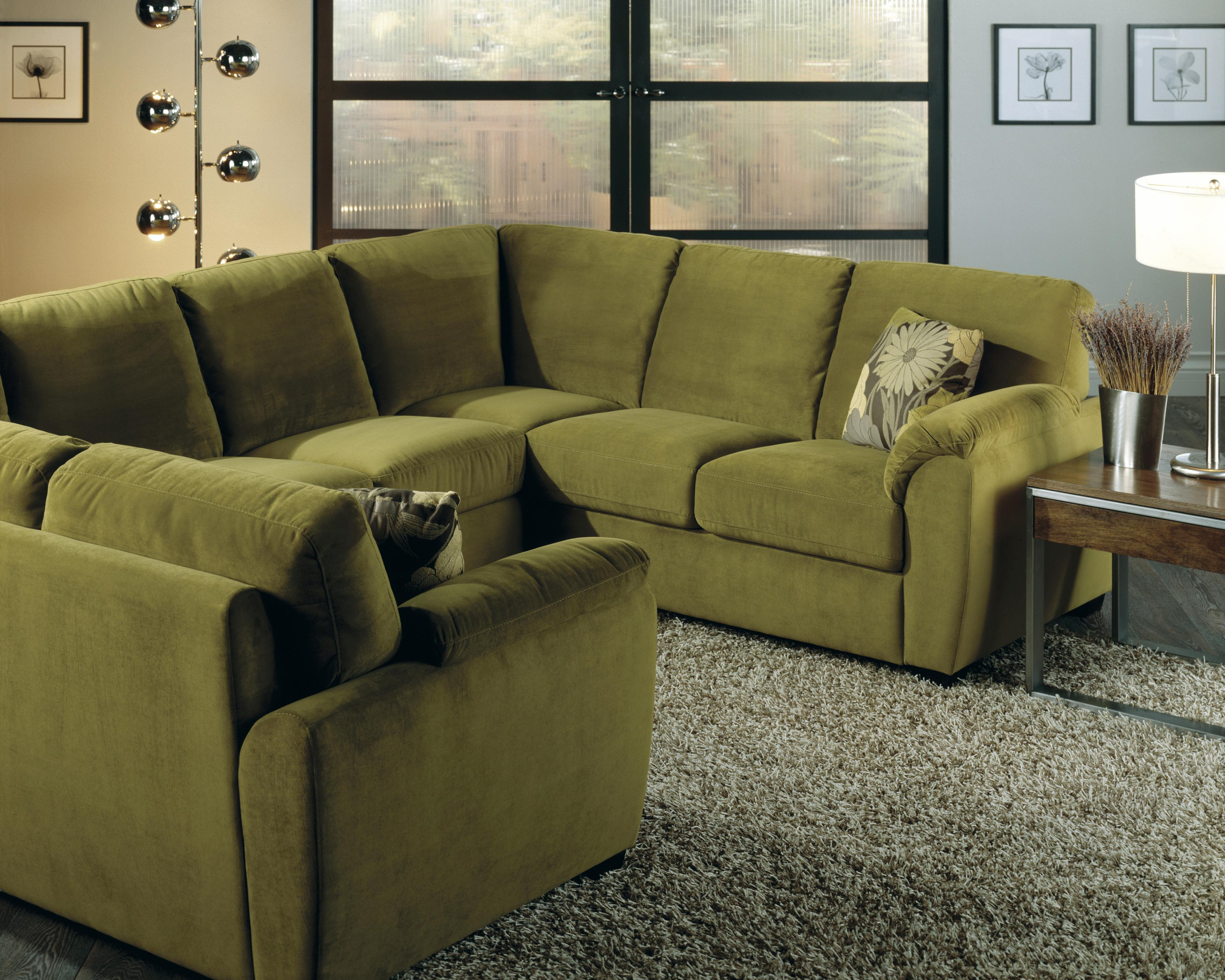 Palliser Lanza Casual Square Sectional Sofa A1 Furniture