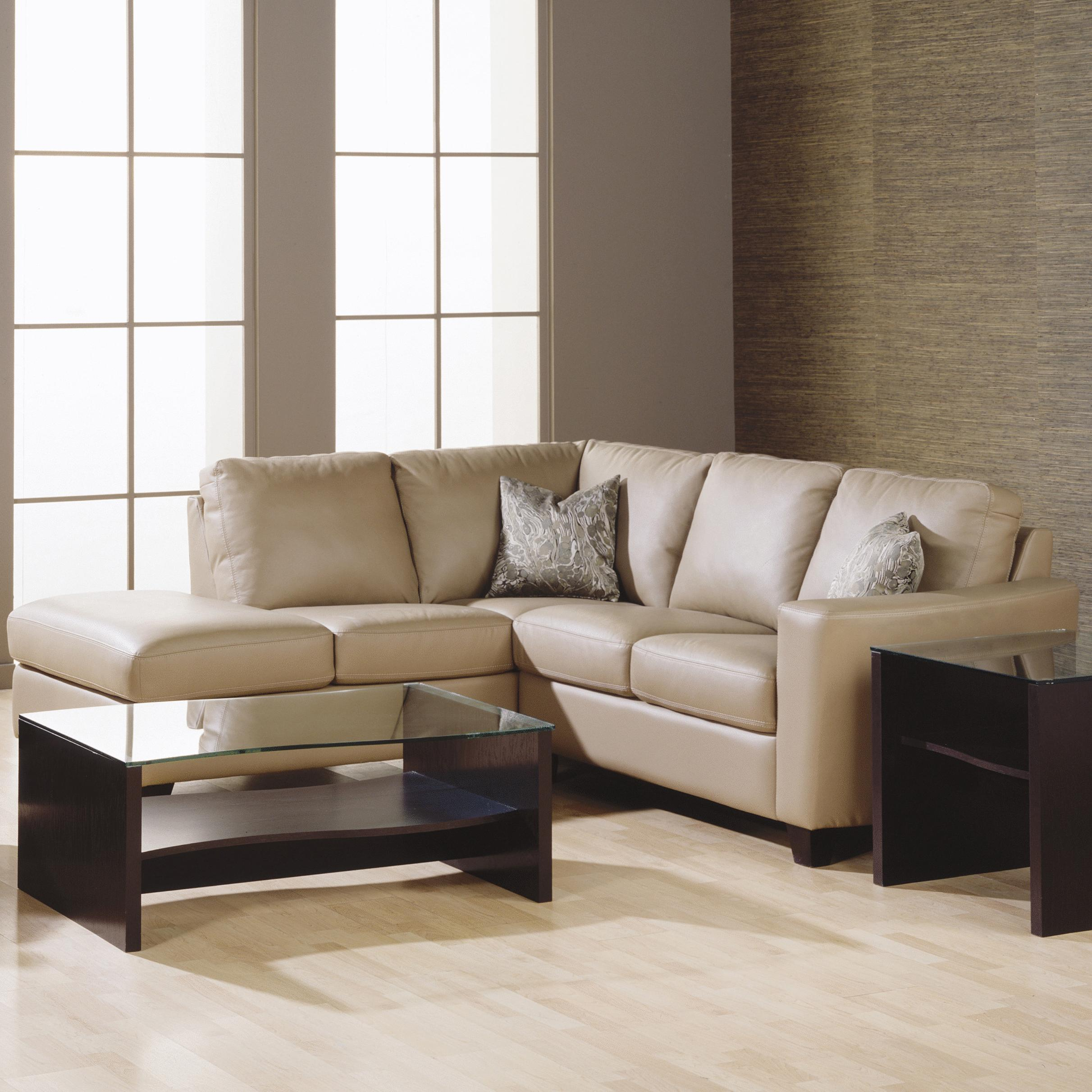 Palliser Leeds Contemporary 2-piece Sectional With Corner