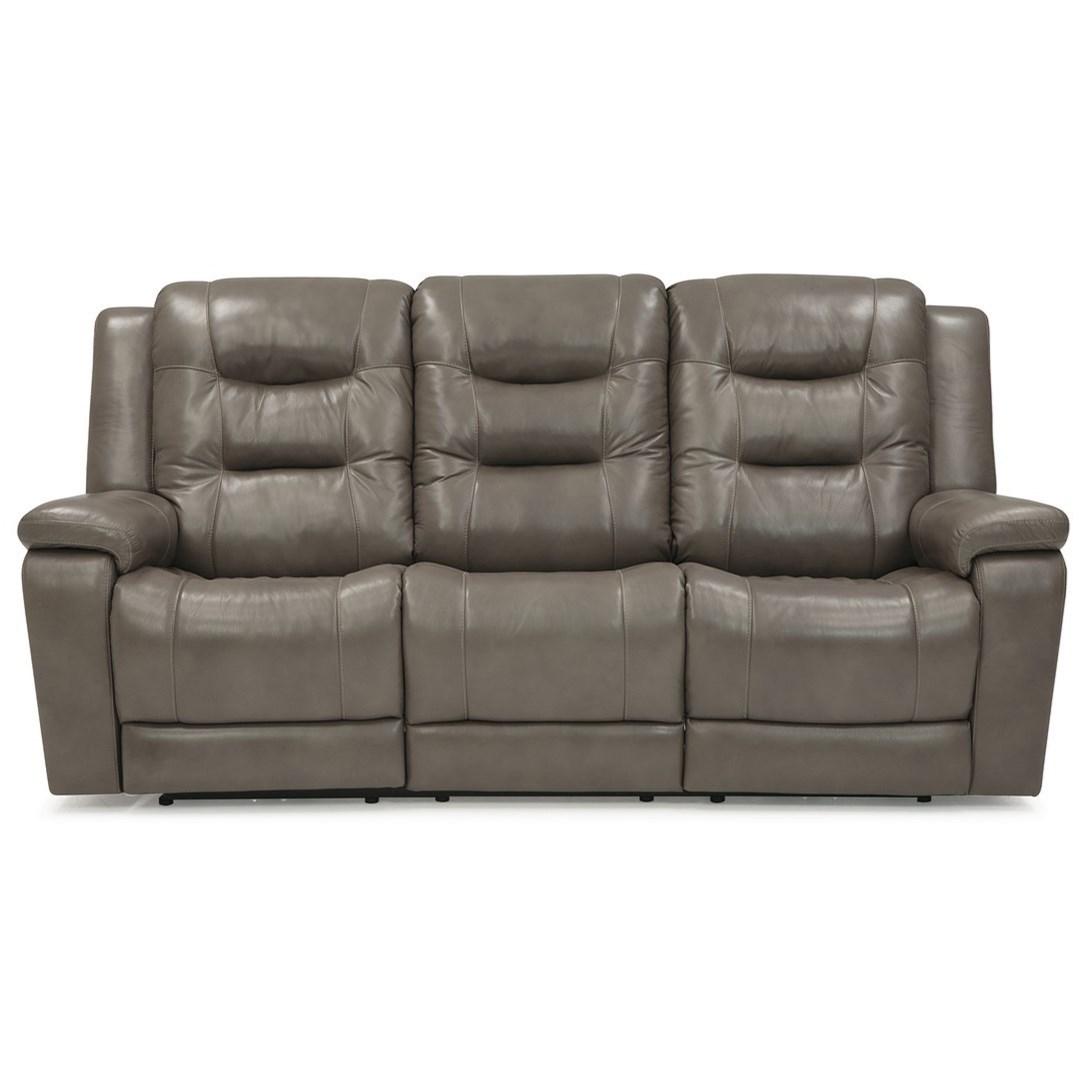 Palliser Leather Reclining Sofa Reviews: Palliser Leighton 41063-L6 Casual Power Reclining Sofa