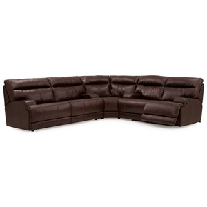 Reclining Sectional with Sofabed