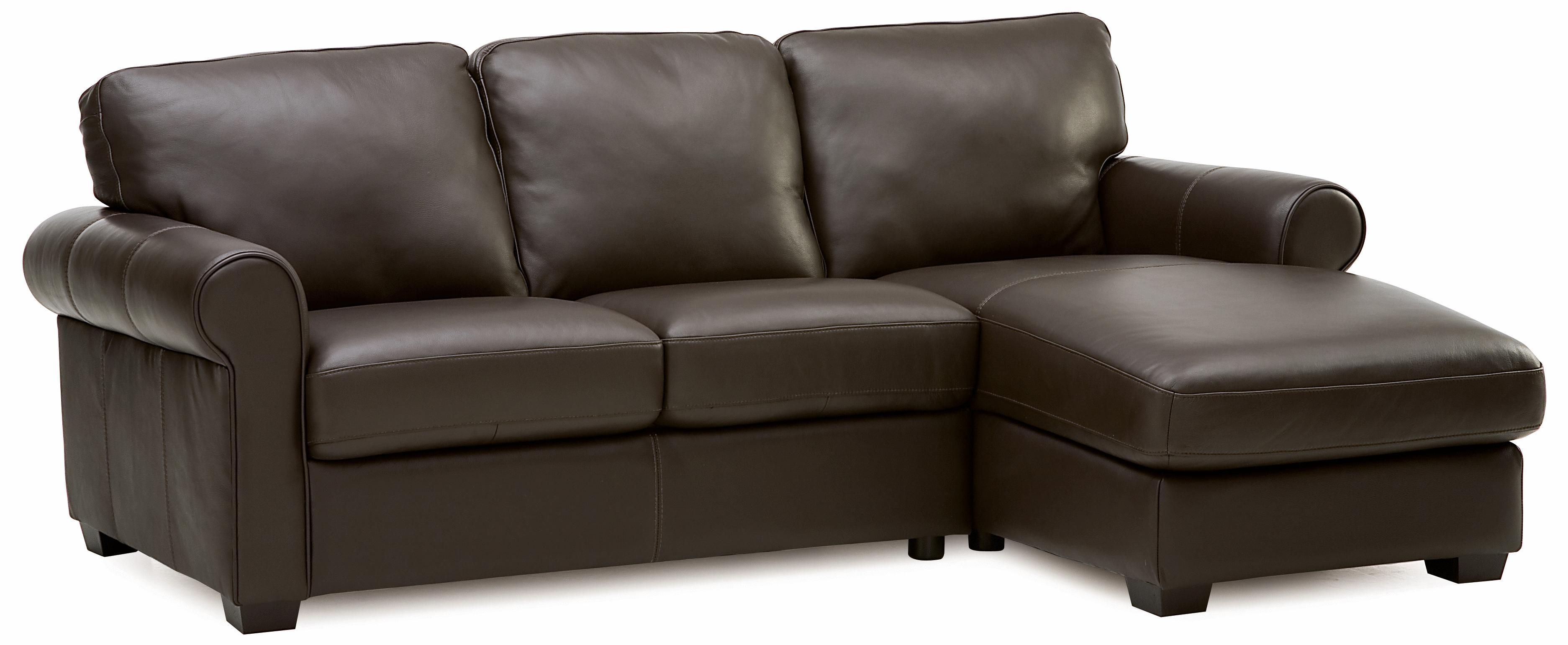 palliser magnum transitional 2 pc sectional with rhf chaise