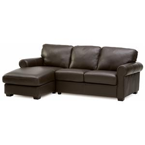 Palliser Magnum 2 pc. Sectional with LHF Chaise