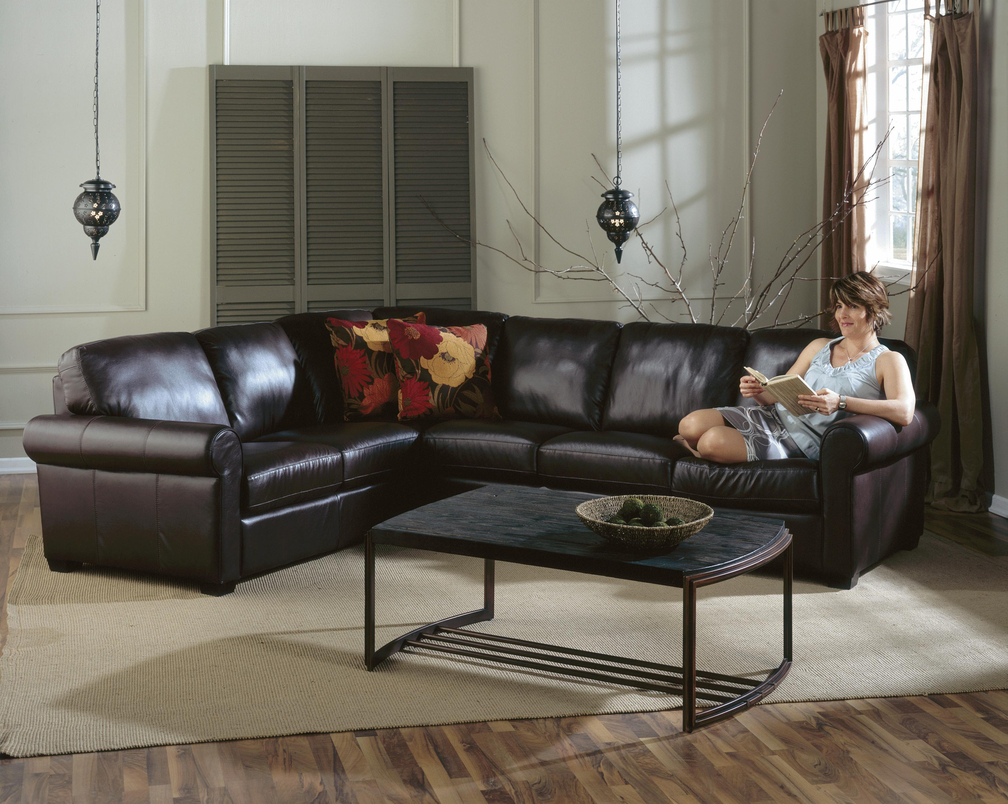 Palliser Magnum Transitional 2 Pc Sectional Sofa With Lhf