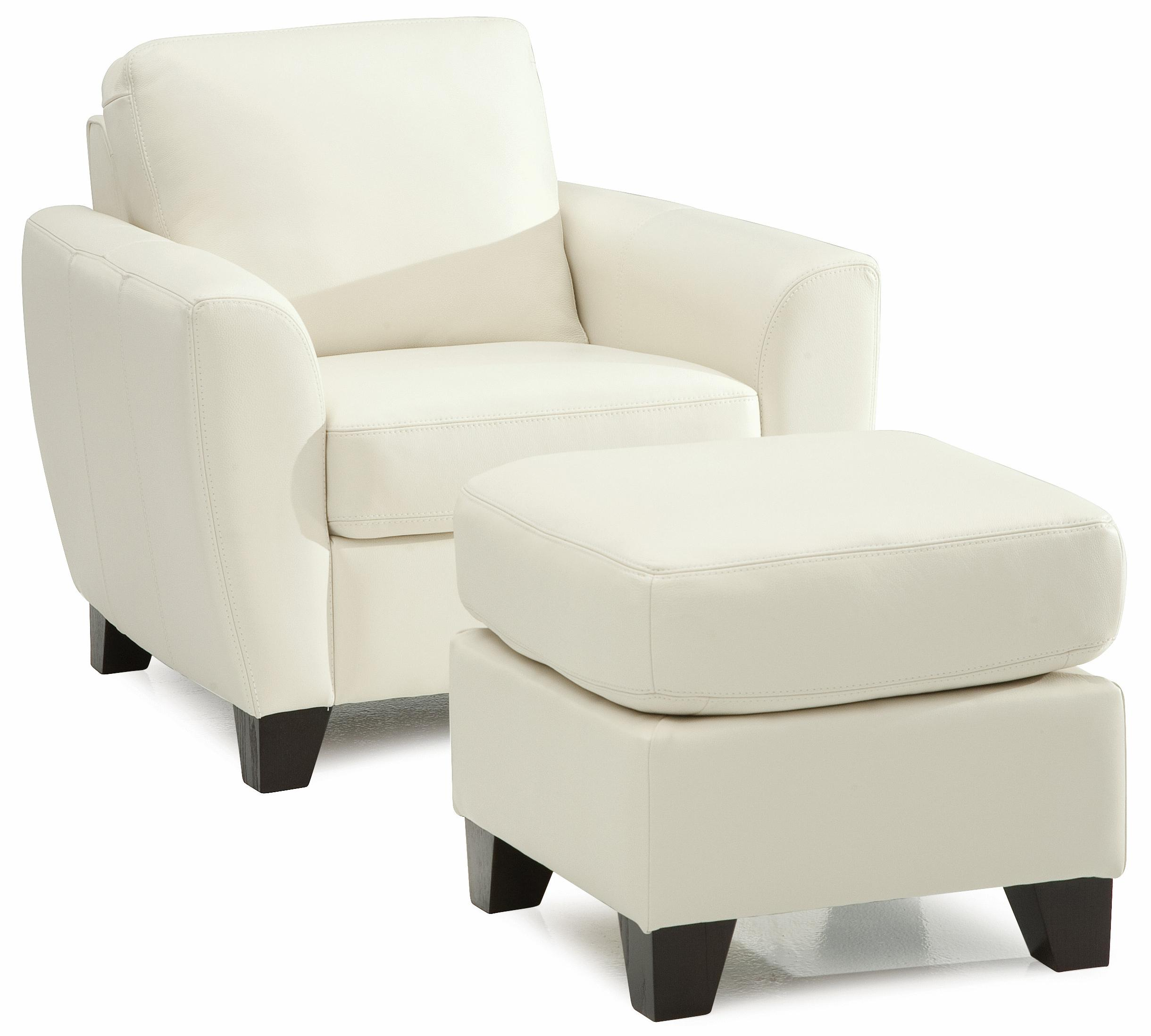 Palliser Marymount Chair and Ottoman - Item Number: 77332-02+04