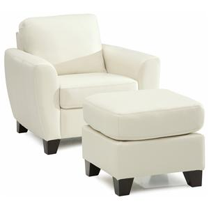 Palliser Marymount Chair and Ottoman