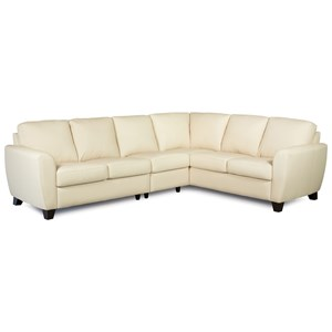 5-Seat Sectional Sofa with RAF Corner Piece