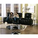 Palliser Media Contemporary 3-Seater Manual Reclining Home Theater Sectional - 41402-5R+7R+3R