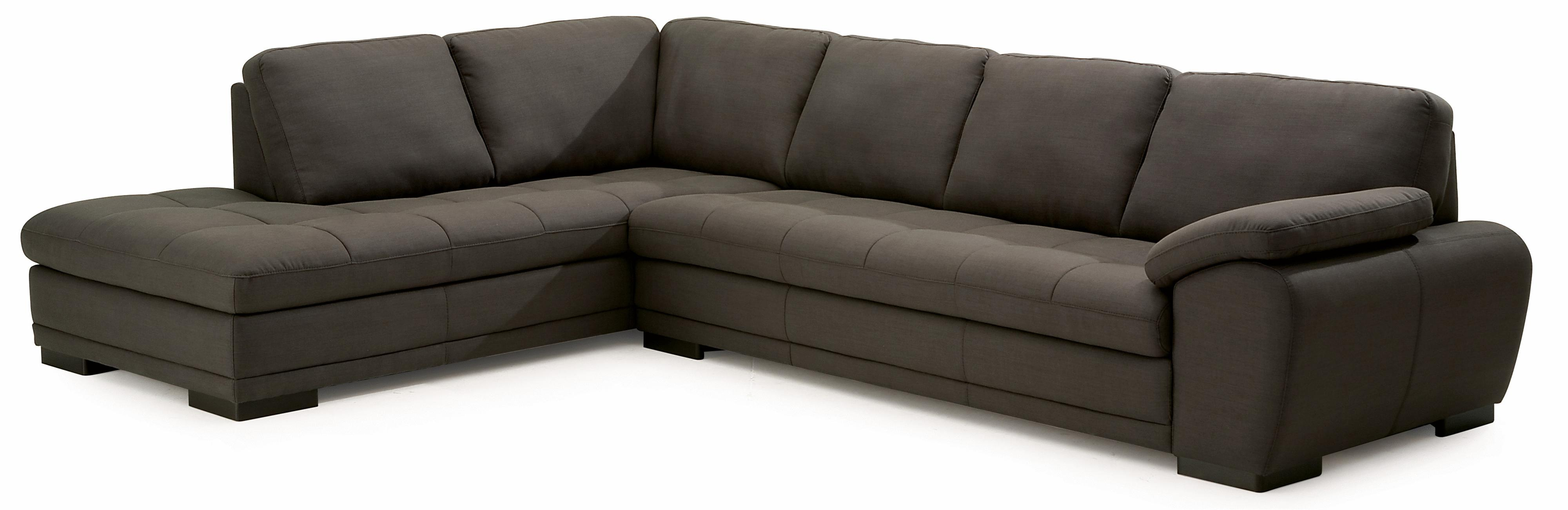 Palliser Miami Contemporary 2 Piece Sectional Sofa with Left