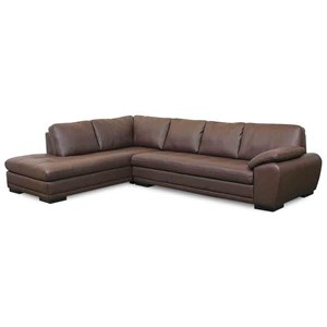 Contemporary Sectional Sofa with Chaise
