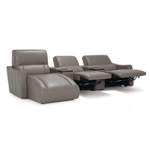 Left Hand Facing Reclining Sofa Chaise