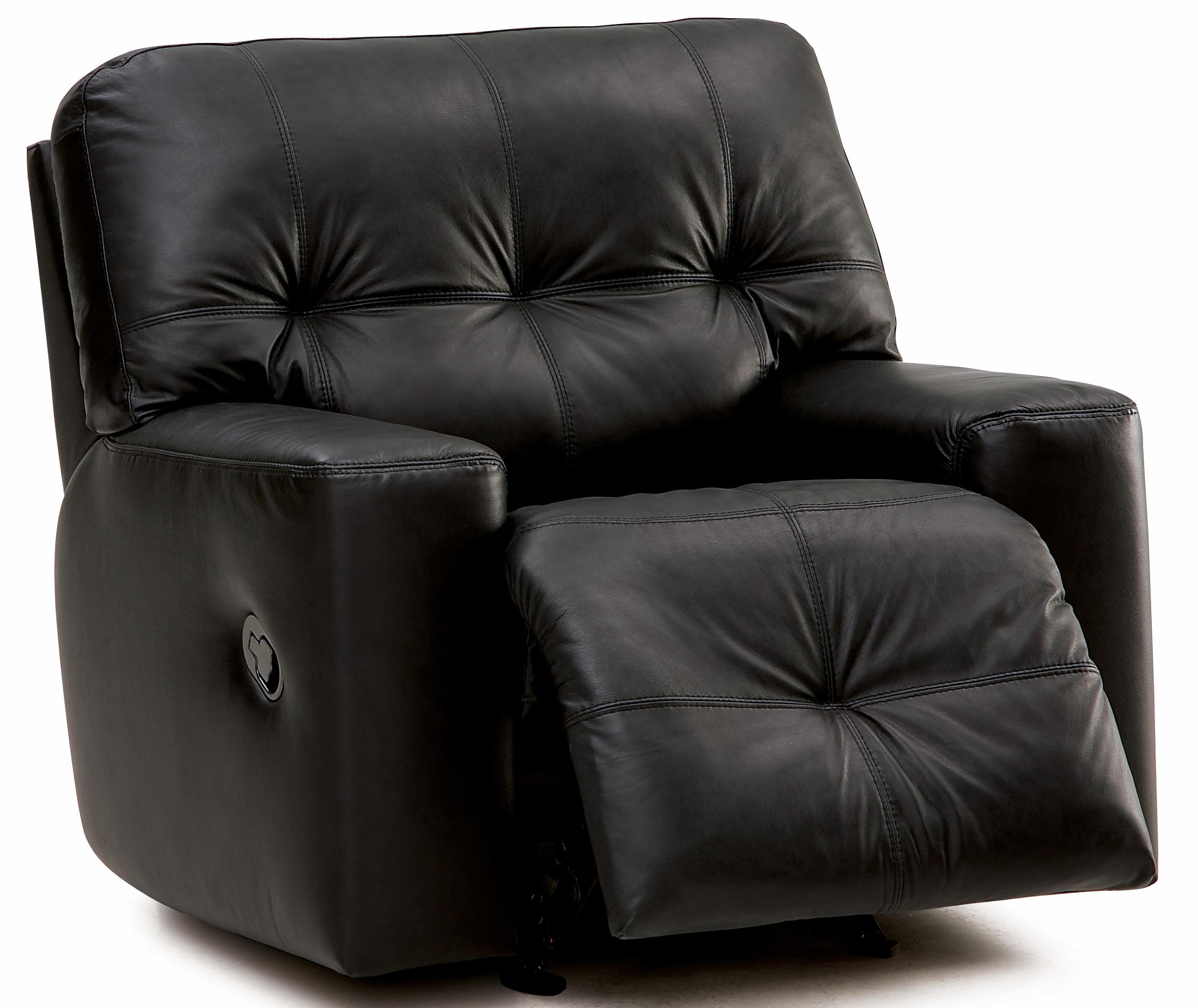 palliser mystique transitional power rocker recliner with tufting