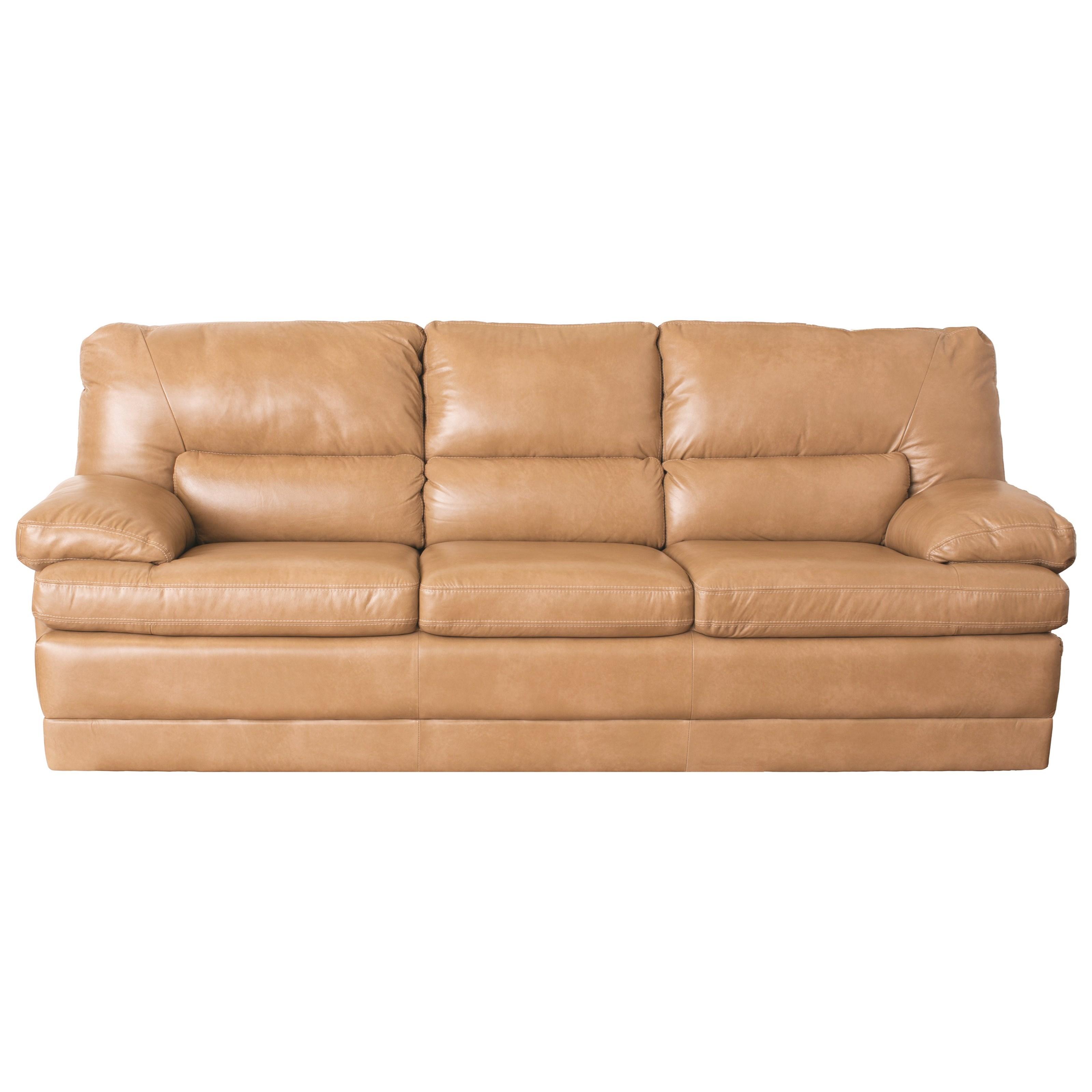 Palliser Northbrook Contemporary Sofa W/ Pillow Arms