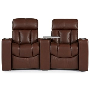 2-Seat Reclining Home Theater Seating