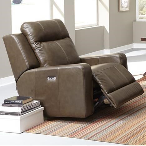 Palliser Redwood Power Rocker Recliner - Item Number: 41057-39-Carnival Moss