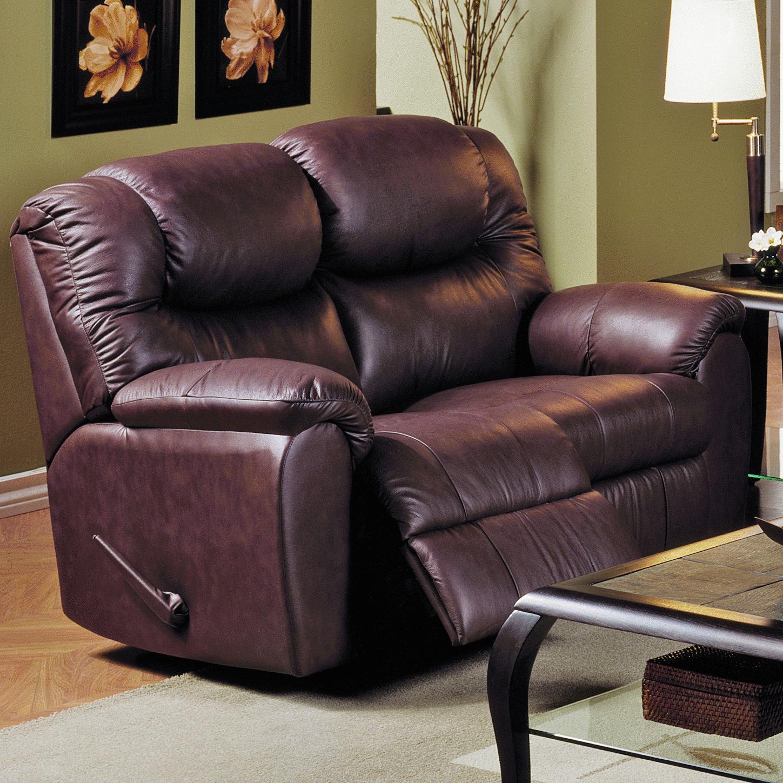 Palliser Regent Reclining Leather Loveseat A1 Furniture