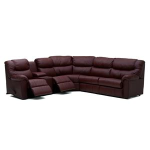 Palliser Regent Casual Reclining Sectional Sofa