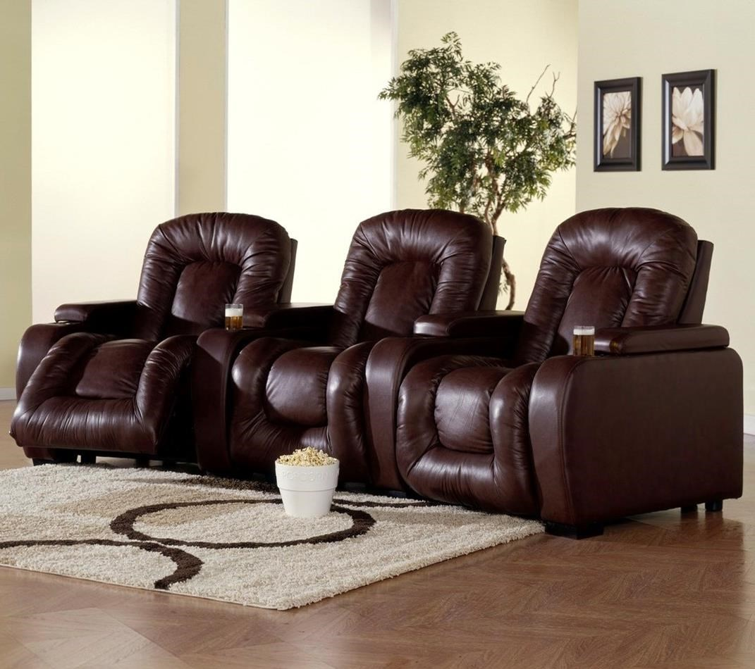 3-Piece Power Theater Seating