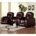 Palliser Rhumba 3-Piece Power Theater Seating - Item Number: 41918-3E+5E+7E