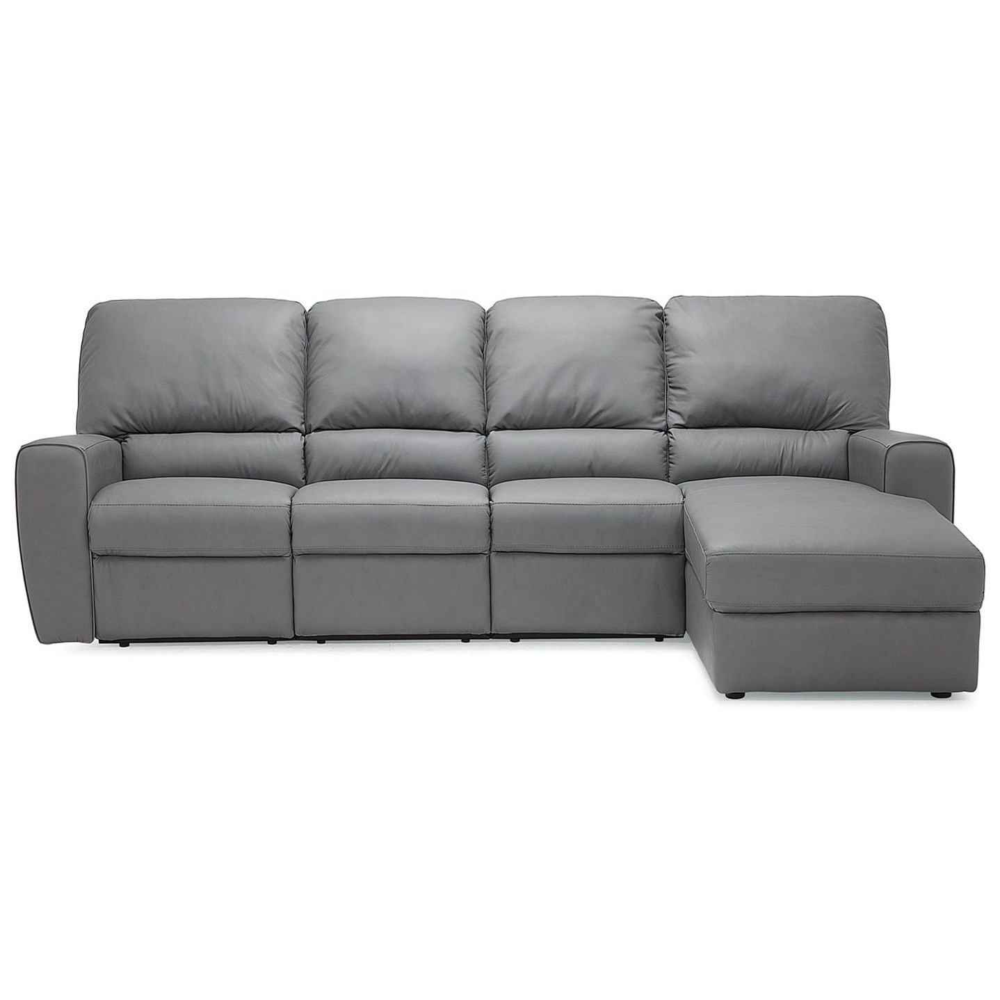 Palliser San Francisco 4 Seat Reclining Sectional Sofa With