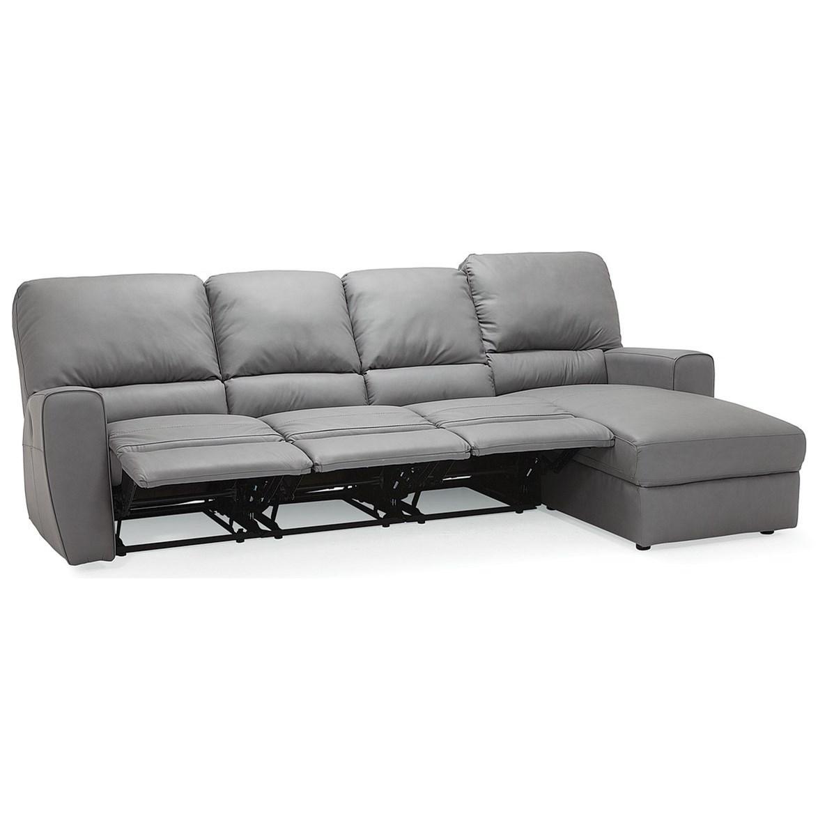 Palliser San Francisco 4-Seat Reclining Sectional Sofa ...